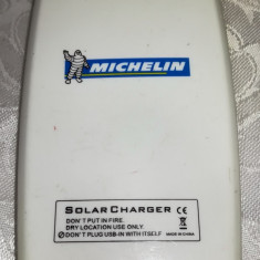 Incarcator solar MICHELIN pentu telefon / baterie externa