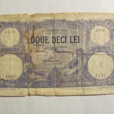 CY - 20 lei 02 Octombrie 1924 Romania