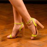 Sandale dama cu toc marimea 38