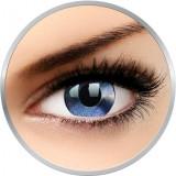 Crazy Mirror - lentile de contact colorate albastre anuale - 360 purtari (2 lentile/cutie)