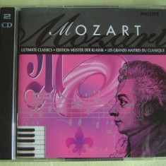 MOZART - Ultimate Classics - 2 C D Originale ca NOI
