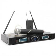 Power Dynamics Putere Dynamics PD732H 2 canale UHF Wireless Sistem microfon 2x 16 Wireless Hand