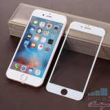 Geam Protectie Display iPhone 6s iPhone 6 Acoperire Completa 4D Alb, Apple