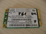 Placa wireless laptop Lenovo ThinkPad T61, Intel 4965AGN MM2, 42T0867, L02847