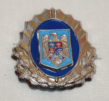 Insigna Militara - Ofiter JANDARMI - Coifura - insemn cascheta - cuc