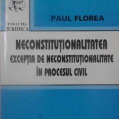 NECONSTITUTIONALITATEA. EXCEPTIA DE NECONSTITUTIONALITATE IN PROCESUL CIVIL - PA