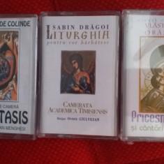 Cantari Bisericesti Ortodoxe -3 casete audio