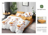 Lenjerie de pat Finet Pucioasa, 2 persoane, 6 piese