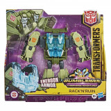 Figurina Transformers Cyberverse Action Attacker Ultra, Rack'N'Ruin