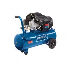 Compresor cu doi cilindri HC52DC 1500 W Scheppach SCH5906101901 50L 8 bari