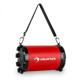 Auna Dr. Red Boom 2.1 Bluetooth Speaker USB SD AUX acumulator