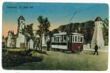 1599 - TIMISOARA, Tramway - old postcard - used - 1915, Circulata, Printata