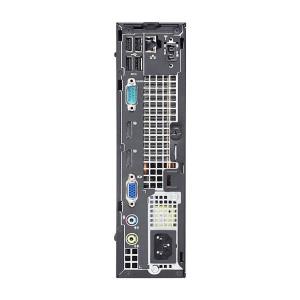 Calculator Dell Optiplex 9020 Desktop USFF, Intel Core i7 Gen 4 4770S 3.1 GHz, 8 GB DDR3, 500 GB HDD SATA, DVDRW