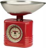 Cantar mecanic de bucatarie rosu | Typhoon
