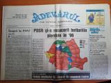 Adevarul 6 iunie 2000-basescu si oprescu intra in turul 2 la alegerile locale