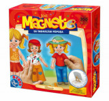 Joc magnetic - Sa imbracam papusa, clasic, D-Toys