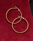 Cercei Inox -- ROTUNZI --Dama 1297