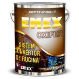 "Sistem Anticoroziv Convertor de Rugina ""Emex Oxifer"", Negru, Bidon 3 Kg"