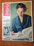 revista femeia martie 1965-articol si foto maramures,moda,mic laborator culinar