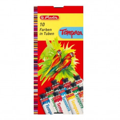 Acuarele Herlitz tempera, 16ml, set 10 culori