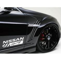Sticker ornament auto lateral Nissan