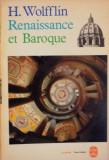 RENAISSANCE ET BAROQUE par H. WOLFFLIN 1961