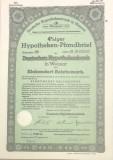 100 Reichsmark titlu de stat Germania 1942