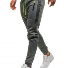 Pantaloni de trening bărbați gri Bolf JX8112