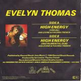 "Evelyn Thomas - High Energy (1984, Ariola) Disc vinil single 7"""