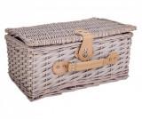 Cumpara ieftin Cos picnic pentru 4 persoane - Creaciones Meng, Gri & Argintiu