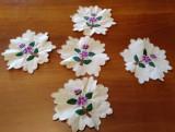 Mileu vechi flori set -5 buc