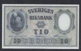 A5148 Sweden Suedia 10 kronor 1958 SEMNATURI DIFERITE UNC