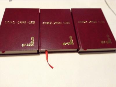 CICERO -OPERE ALESE -3 VOLUME-LEGATE DE LUX--RF17/3 foto