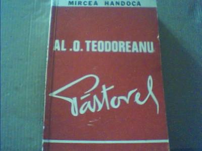 Mircea Handoca - AL. O. TEODOREANU { Pastorel } / 1975 foto