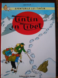 Aventurile lui Tintin. Tintin in Tibet. Herge. Benzi desenate BD