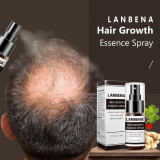 Spray, Lanbena, Growth Essence, impotriva Caderii Parului, 100% Natural