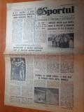 Sportul 1 aprilie 1981-gimnastele s-au intors din sua , venezuela,nadia comaneci