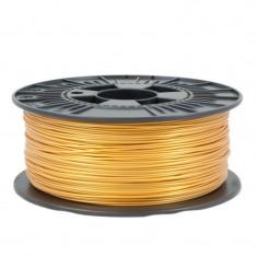 Filament pentru Imprimanta 3D 1.75 mm PLA 1 kg - Auriu Deschis foto
