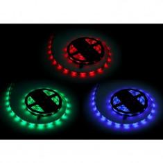 Banda LED RGB 1500 diode IP65, 5 m, 7.2 W, 12 V, 1500 lm, Oem