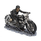 Statueta motocicleta Iad pe sosea 20.5 cm James Ryman