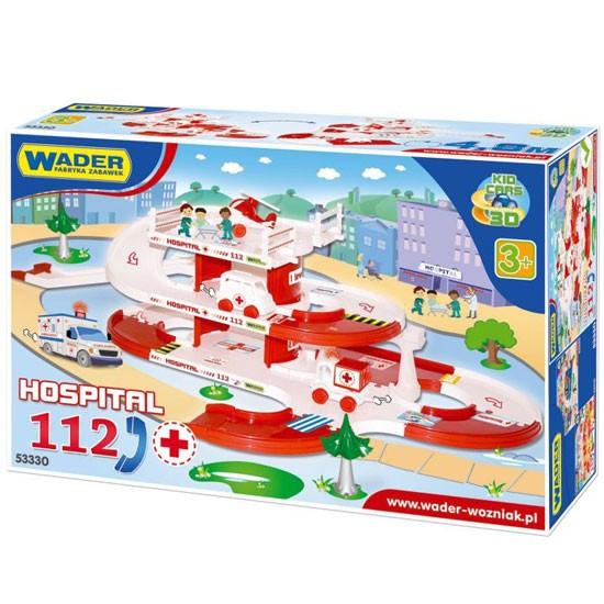 Kid Cars 3D - spitalul cu pista 4,8m 53330 Wader