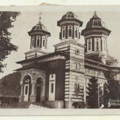 cp Sinaia : Manastirea - circulata 1929, timbre