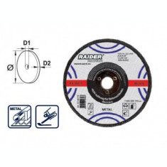 Disc abraziv 115x6x22.2mm, Raider 160109