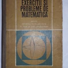 Exercitii si probleme de matematica,Ad.licee-sc.profesionale,gh.,gheba,,T.GRATUI