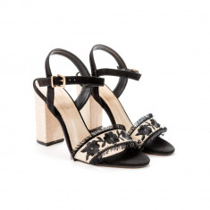 Sandale Brodate Flori