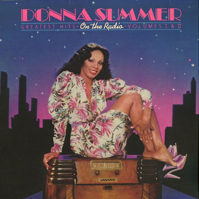 VINIL 2xLP Donna Summer – On The Radio: Greatest Hits Volumes I & II (-VG) foto