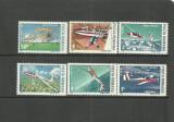 Romania 1987 - AVIATIE. PLANORISM, serie MNH, SA12