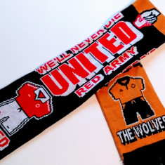 Fular fotbal MANCHESTER United - WOLVERHAMPTON (Anglia)