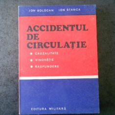 ION BOLOCAN, ION STANCA - ACCIDENTUL DE CIRCULATIE