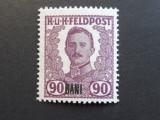 Romania 1918 - Ocupatia Austro-Ungara in Romania, valoarea 90 BANI, nestampilat.